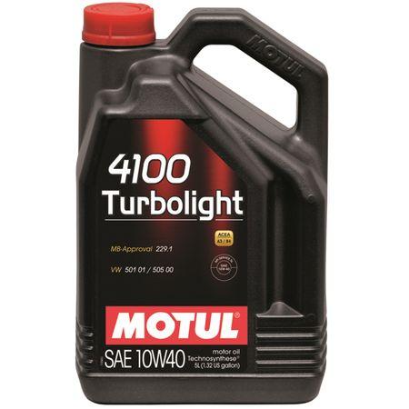 Ulei motor Motul 4100 Turbolight, 10W40, 4L 0