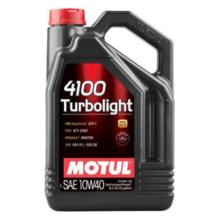 Ulei motor Motul 4100 Turbolight, 10W40, 5L [0]