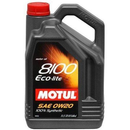 Ulei motor MOTUL 8100 Eco-lite, 0W20, 5L [0]