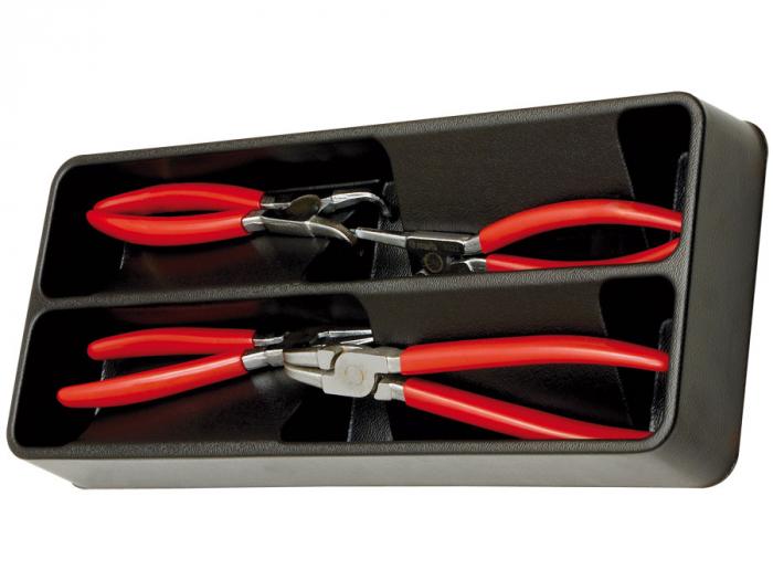 Modul PVC cu 4 clesti inele siguranta manson PVC Mob&Ius 0