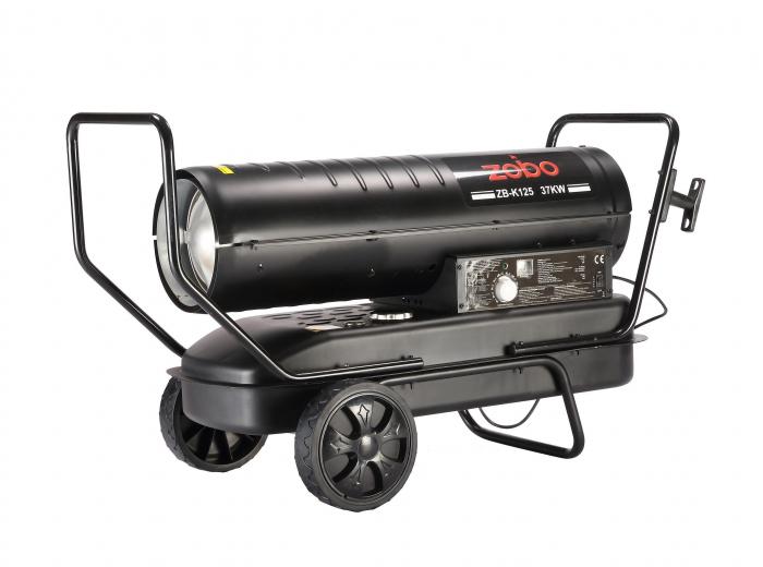 Zobo ZB-K125 Tun de aer cald, ardere directa, 37kW 2