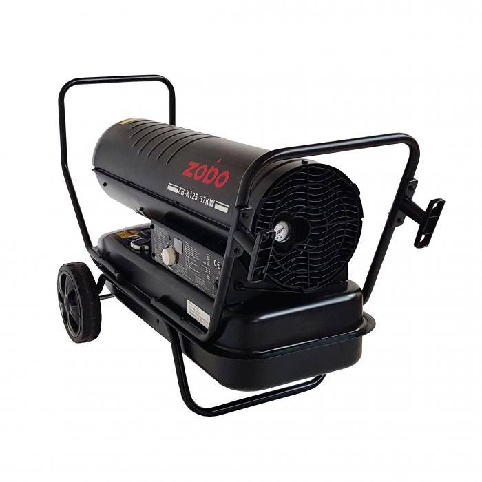 Zobo ZB-K125 Tun de aer cald, ardere directa, 37kW 0