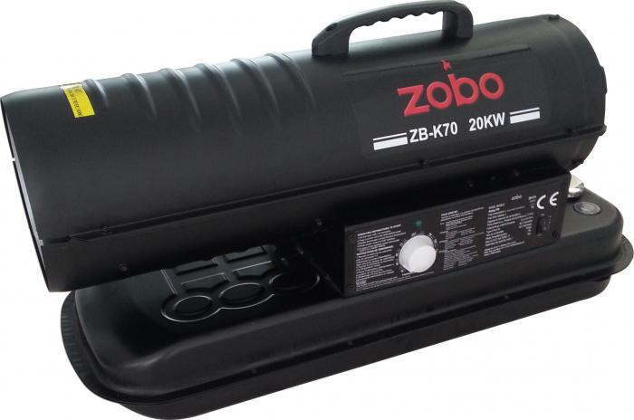 Zobo ZB-K70 Tun de aer cald, ardere directa, 20kW 2