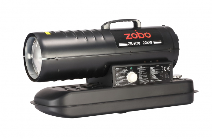 Zobo ZB-K70 Tun de aer cald, ardere directa, 20kW 3