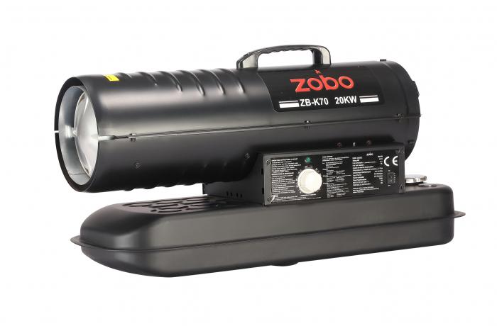 Zobo ZB-K70 Tun de aer cald, ardere directa, 20kW 1
