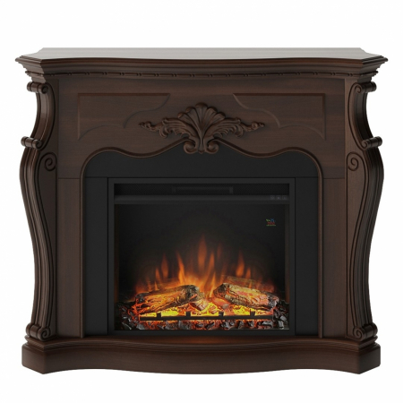 Semineu TAGU Gala Royal Walnut cu Focar Electric PowerFlame, 23 inch, FM465-WA2 + 23PF1A0