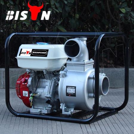 Motopompa Bison  BSWP40,  apa curata, 4'' intrare-iesire, motor pe benzina 4T, debit maxim 85m³/h, 8m adancime maxima, 30m inaltime refulare1