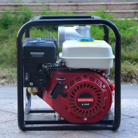 Motopompa Bison  BSWP30,  apa curata, 3'' intrare-iesire, motor pe benzina 4T, debit maxim 56m³/h, 8m adancime maxima, 30m inaltime refulare7