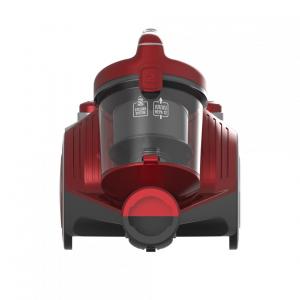Aspirator fara sac Heinner HVC-MC700RD, 700 W, Filtrare ciclonica, Filtru Hepa 12, Rosu0