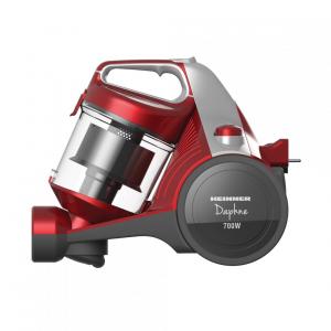 Aspirator fara sac Heinner HVC-MC700RD, 700 W, Filtrare ciclonica, Filtru Hepa 12, Rosu1