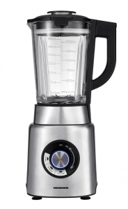 Blender Heinner HBL-1200XMC, 1200 W, 20.000 rpm, extra safe lock, 6 lame, functie smoothie, zdrobire gheata, Inox0
