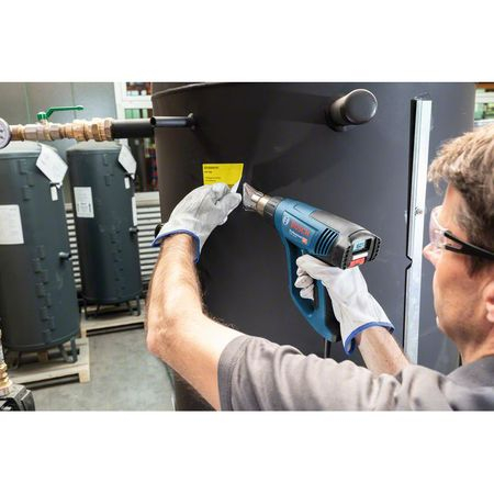 Pistol cu aer cald Bosch Professional GHG 23-66, 2300 W, 500 l/min dedbit aer maxim, 50-650°C temperatura lucru + talpa de sudura + 4 duze + geanta transport2