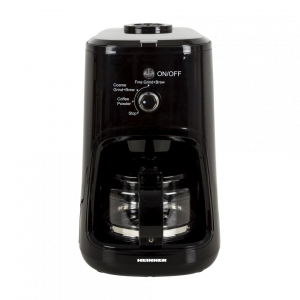 Cafetiera Heinner HCM-900RBK, 900 W, Rasnita incorporata, 0.6 L, Negru1