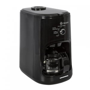 Cafetiera Heinner HCM-900RBK, 900 W, Rasnita incorporata, 0.6 L, Negru0