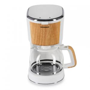 Cafetiera Heinner HCM-WH900BB, 900 W, 1.25 L, filtru detasabil, anti-picurare, oprire automata, Alb2