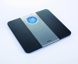 Cantar corporal de diagnostic Heinner HDS-150BKSL, 150kg, memorie 8 persoane, LCD, gradare 50g, platforma de plastic1