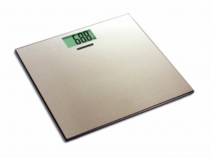 Cantar de persoane Heinner HBS-180SSGD, 180kg, platforma din inox colorat, 30 x 30 cm, display LCD, baterii 2 x 1.5V AAA, gold0