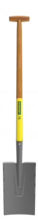 Cazma slefuita Senlis DUOPRO - 28 cm, coada din lemn, certificat PEFC 100%, capat forma T0