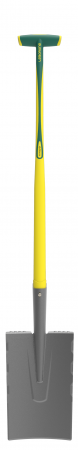 Cazma slefuita Senlis DUOPRO - 28 cm, coada NOVAGRIP, capat forma T [0]