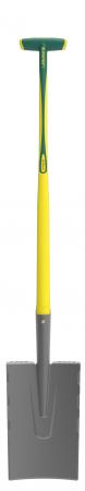 Cazma slefuita Senlis DUOPRO - 28 cm, coada NOVAGRIP, capat forma T2