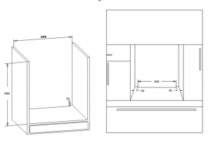 Cuptor incorporabil Heinner HBO-S624LTG-IX, Electric, 62 l, 4 functii, Grill, Clasa A, Inox1