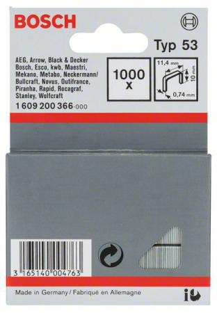 Cutie de 1000 capse 10mm Type 53 [0]