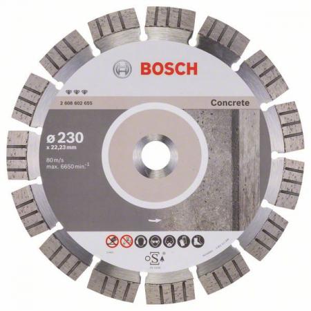 Disc diamantat Best pentru beton 230 x 22.23 x 2.4mm0