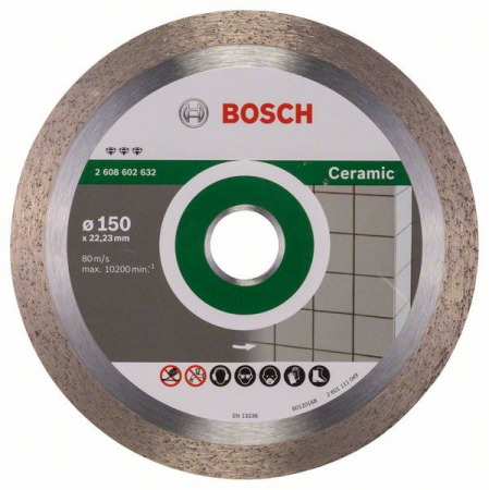 Disc diamantat Best pentru ceramica 150 x 22.23 x 1.9mm2