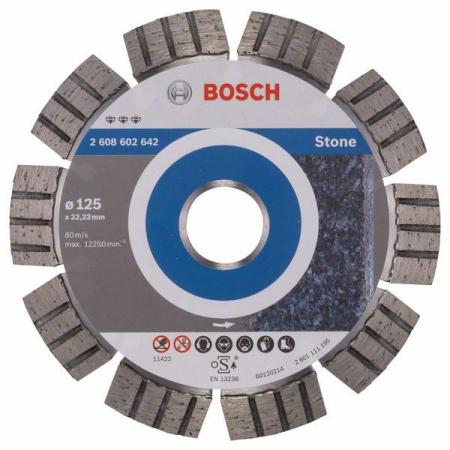 Disc diamantat Best pentru piatra 125 x 22.23 x 2.2mm1