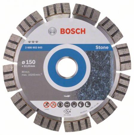 Disc diamantat Best pentru piatra 150 x 22.23 x 2.4mm0