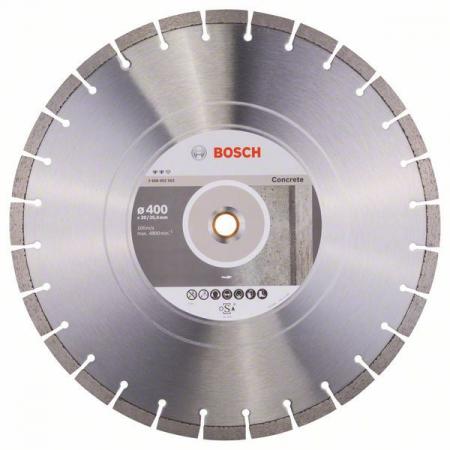 Disc diamantat Expert pentru beton 400 x 20.00+25.40 x 3.20