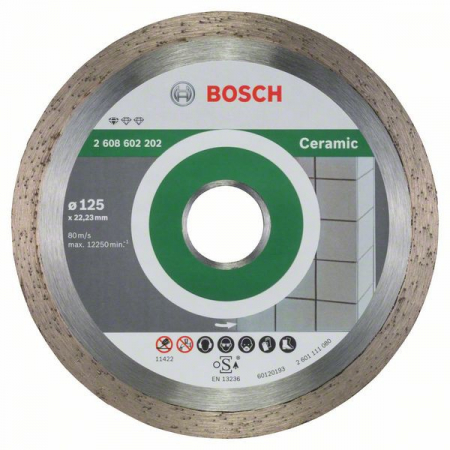 Disc diamantat Standard pentru ceramica 125mm [0]