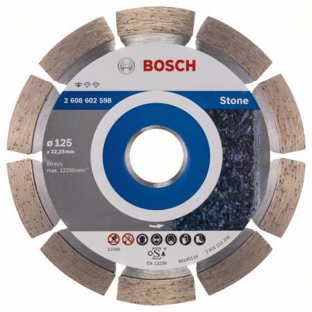 Disc diamantat Standard pentru piatra 125 x 22.23 x 1.6mm0