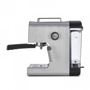 Espressor semi-automat Heinner HEM-B2012SA, 20 bar, 850W, rezervor apa detasabil 1.2l, optiuni presetate pentru espresso lung/scurt, filtru din inox, plita pentru mentinere cafea calda, decoratii inox1