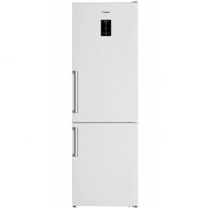 Combina frigorifica Candy CVBN 6184WBF, 324 l, No Frost, Display, Iluminare LED, Clasa A++, H 186 cm, Alb0