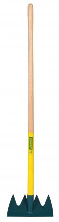 Grapa cu 4 dinti DUOPRO, coada din lemn certificat PEFC 100%1