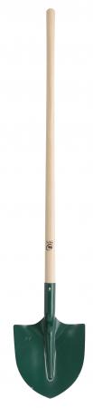 Lopata rotunda din tabla - 29 cm, coada din lemn - 110 cm, certificat PEFC 100%1
