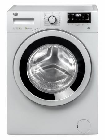 Masina de spalat rufe Slim Beko WKY71233PTLYB3, 7 kg, 1200 RPM, Clasa A+++, HomeWhiz, Mini LCD, Alb1