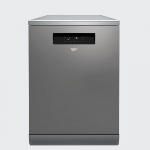 Masina de spalat vase Beko DFN38530X, 15 seturi, 8 programe, Clasa A+++, 60 cm, Inox0