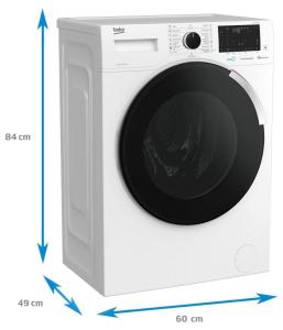 Masina de spalat rufe Beko WUE7746XW0, 7 kg, 1400 rpm, SteamCure, HomeWhiz, Motor ProSmart™ Inverter, Child Lock, Clasa A+++, Alb2