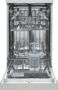 Masina de spalat vase Heinner HDW-FS4506DSA++, 10 seturi, 6 programe, Clasa A++, Control electronic, Display LED, 45 cm, Gri0