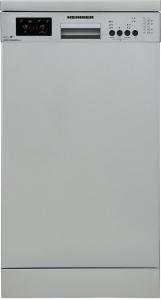 Masina de spalat vase Heinner HDW-FS4506DSA++, 10 seturi, 6 programe, Clasa A++, Control electronic, Display LED, 45 cm, Gri1
