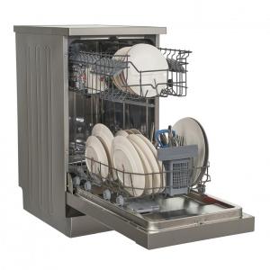 Masina de spalat vase Heinner HDW-FS4506DSA++, 10 seturi, 6 programe, Clasa A++, Control electronic, Display LED, 45 cm, Gri3