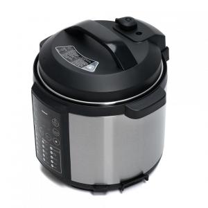 Multicooker cu gatire sub presiune Heinner HPCK-6IX, 3.8 L, 15 programe, Vas antiadeziv detasabil, Presiune reglabila, Timer, Display led, Inox [1]