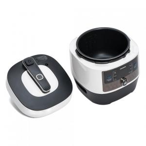 Multicooker cu gatire la presiune Heinner HPCK-6WH, 4.5 L, 14 programe, vas antiadeziv detasabil, Timer, presiune reglabila, display LED, Alb2
