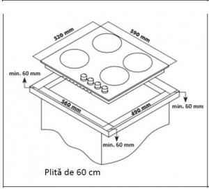 PLITA BUILT IN HEINNER HBH-S584WI-GBK2