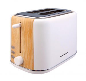 Prajitor de paine Heinner HTP-WH800BB, 800 W, 2 felii, dezghetare, 7 niveluri de rumenire, Alb0