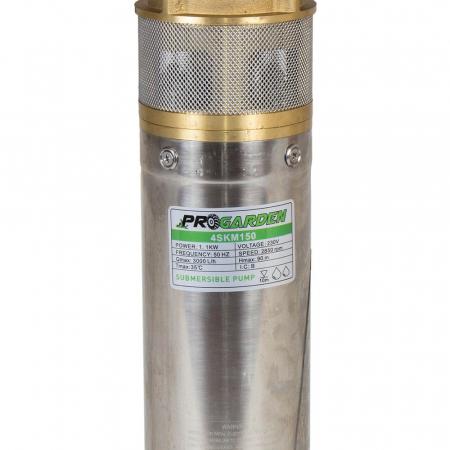 Pompa submersibila apa curata, 1100W ProGARDEN 4SKM150, 42L/min, flansa cupru1
