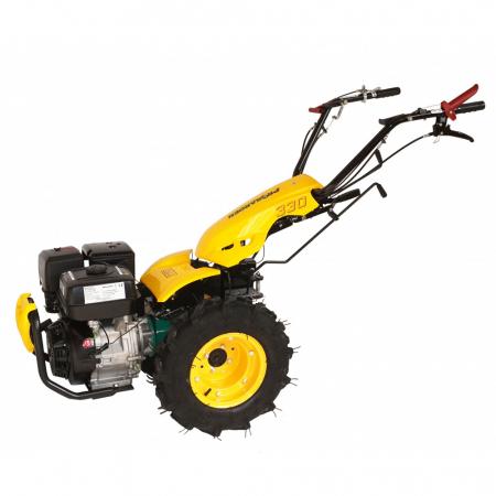 Motocultor multifunctional 14CP ProGARDEN BT330/G190, benzina, euro5, 3+2 viteze, reductor0