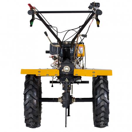 Motocultor 7CP ProGARDEN HS1100AE, 2+1, roti 5.00-12, diesel, pornire electrica1
